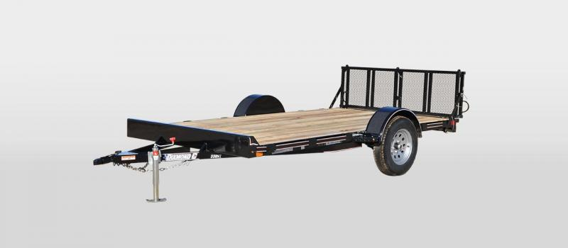2018 Diamond C Trailers 33UVT-L 12X77 UTILITY VEHICLE HAULER TRAILER