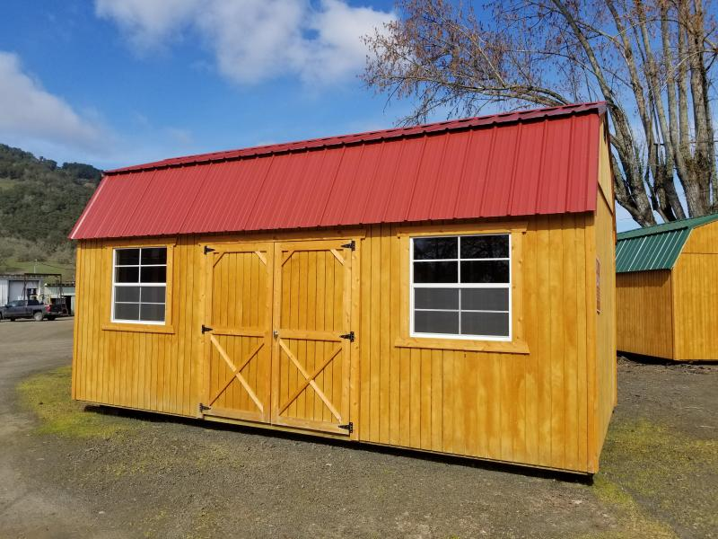 2017 Old Hickory Shed 10x20 Side Lofted Barn T2949