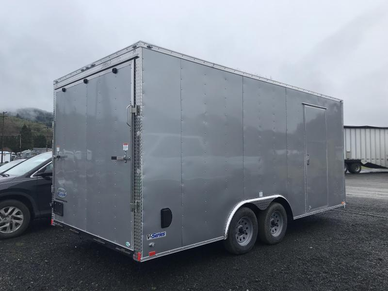 2020 Continental Cargo Car hauler VHW8520TA2  8.5 X 20 Enclosed Cargo Trailer #LF717300