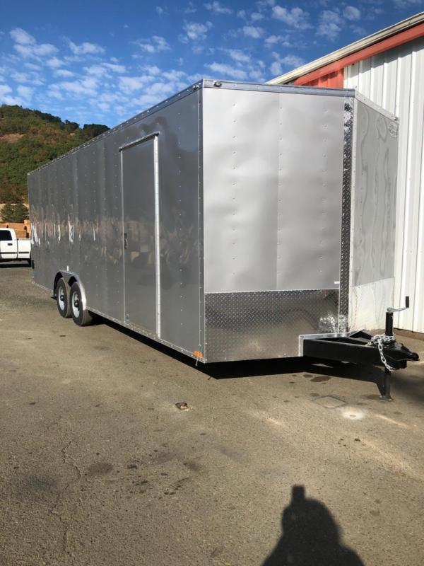 2019 Continental Cargo Car hauler VHW8524TA3  8.5 X 24 Enclosed Cargo Trailer