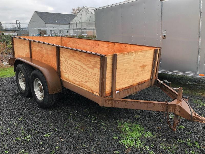 1992 Other 5X12 BOX Utility Trailer USED NEW FLOOR AND SIDES
