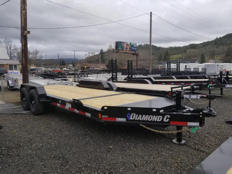 2018 Diamond C Trailers 48 HDT 82X20 SPLIT TILT Flatbed Trailer