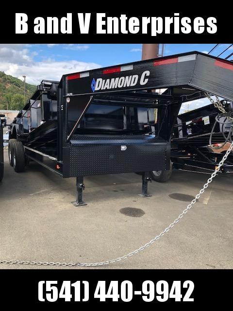 2019 Diamond C Trailers 24LPD 82X16 Gooseneck Dump Trailer