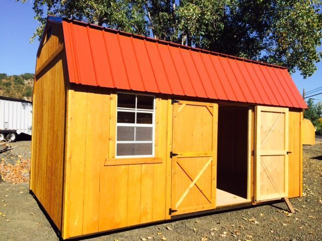 Old hickory shed 10x16 side lofted barn two 4 lofts two 2x3