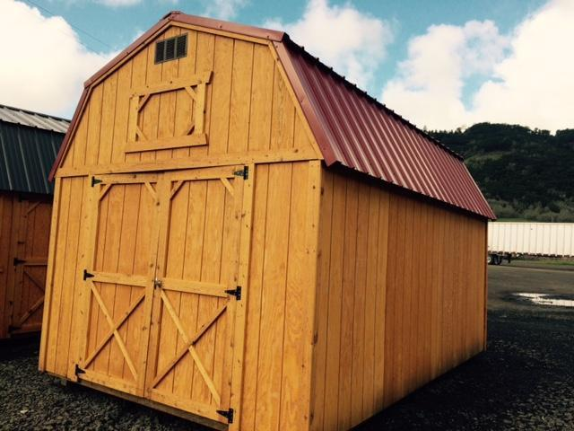 Old Hickory Shed 10x16 Lofted Barn T543