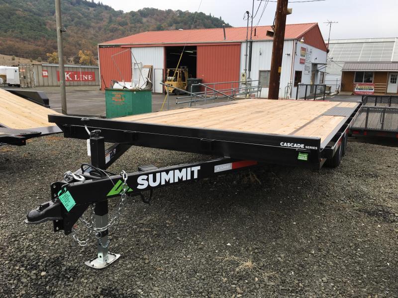 2019 Summit CD 8.5X18 DECK OVER Equipment Trailer