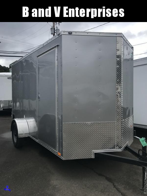 2020 Continental Cargo VHW612SA 6X12 Enclosed Cargo Trailer #LF717990