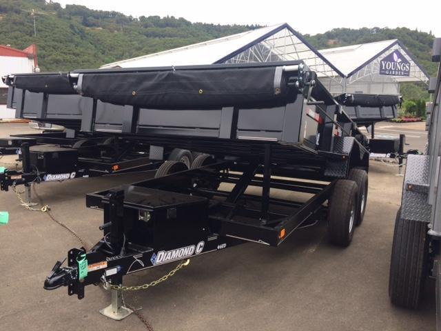 "2017 Diamond C 77""x12 HD Dump Trailer H1189981"