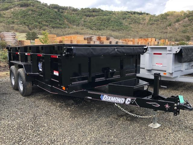 "2018 Diamond C 82""x14 Dump Trailer J1195048"