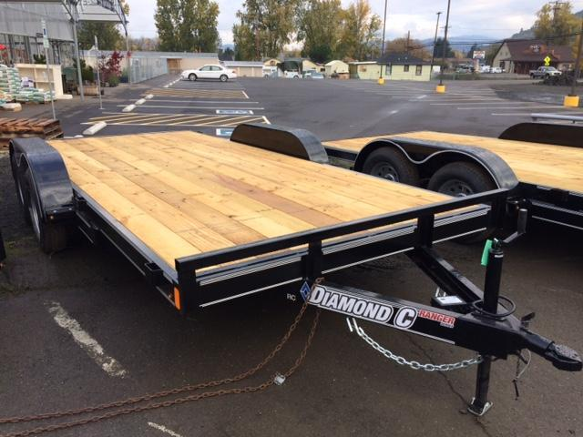 "2018 Diamond C 83""x16 Car Hauler Flatbed Trailer J1194348"