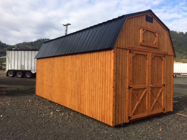 Old Hickory Shed 10x20 Lofted Barn T2781