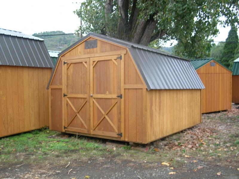 Old Hickory Shed 10x12 Barn T048