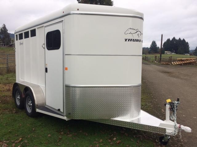 2018 Thuro-Bilt 2H Wrangler Plus Horse Trailer JR180076