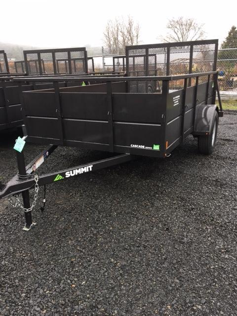 2018 Summit 6x12 Box Trailer J1002325
