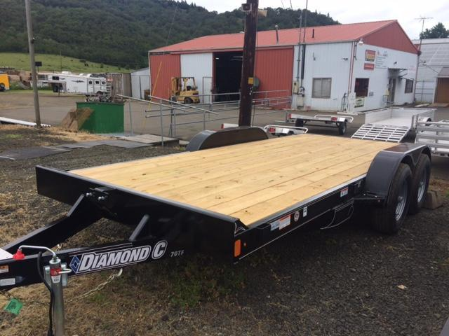 "2017 Diamond C 83""x16 Car Hauler Flatbed Trailer H1188919"