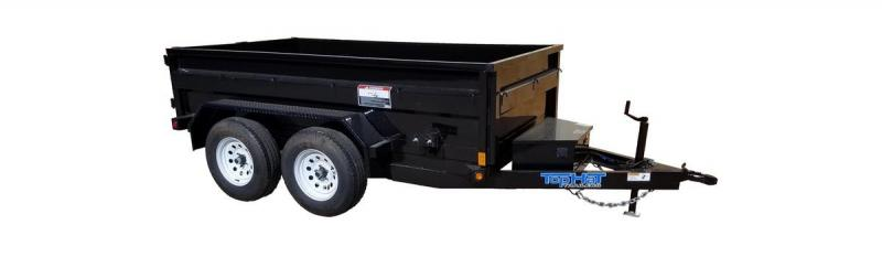 2019 Top Hat Trailers 5X10 Dump Trailer
