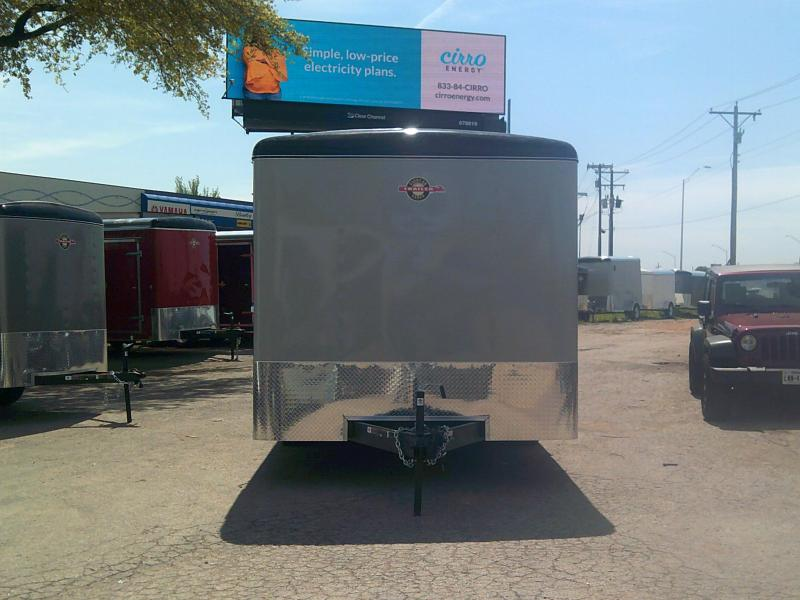 2019 Carry-On 8.5X16 Enclosed Cargo Trailer W/ Rear Ramp