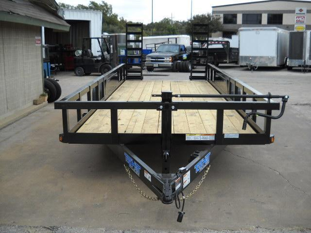 2019 7X20 Top Hat Trailer HEAVY DUTY (14000 GVWR) Equipment Trailer