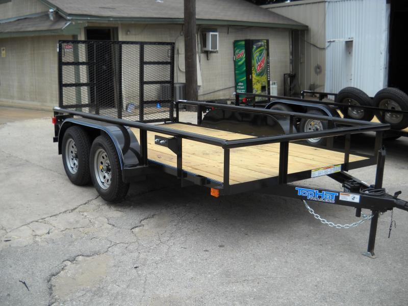 2019 Top Hat Trailers 6.5X12 Utility Trailer