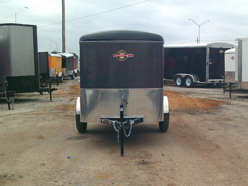 2019 Carry-On 5X10 W/ RAER RAMP Enclosed Cargo Trailer