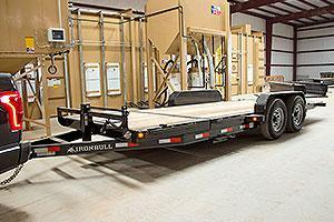 2019 Iron Bull 7X20 TILT Equipment Trailer W/14000 GVWR