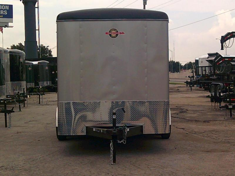 2019 Carry-On 7X16 W/ REAR RAMP Enclosed Cargo Trailer
