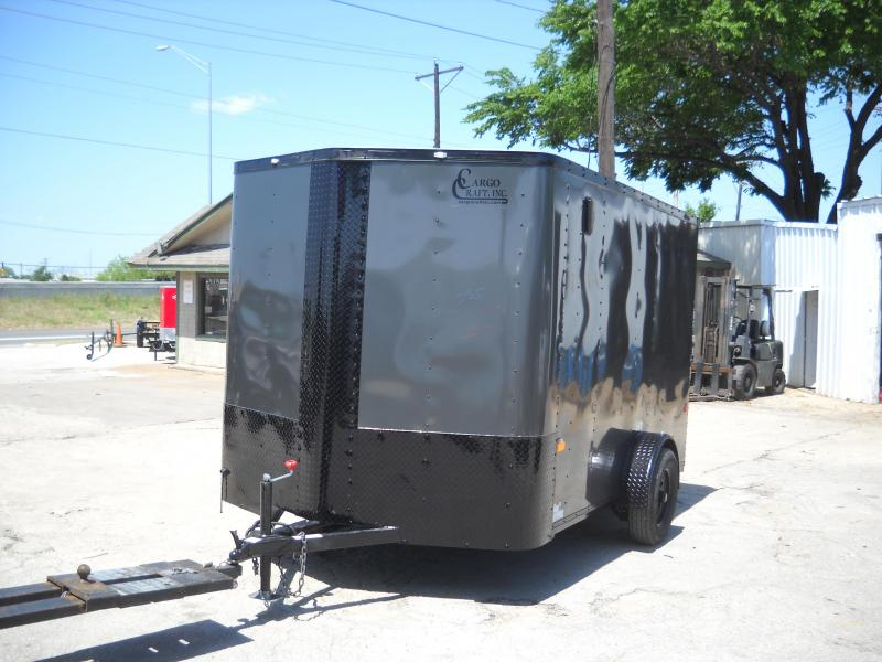 2018 Cargo Craft 7X12 Enclosed Cargo Trailer