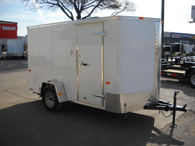 2016 Cargo Craft EV6121 Enclosed Cargo Trailer