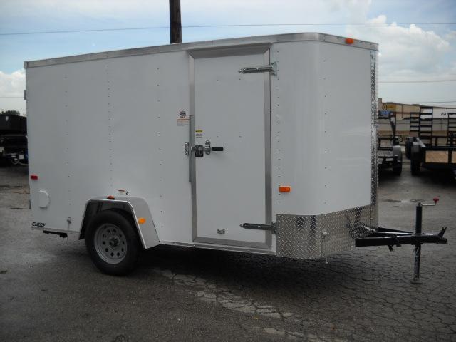 2016 Cargo Craft EV6121 Enclosed Cargo Trailer