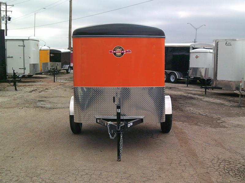 2019 Carry-On 5X8 W/ Rear Ramp Enclosed Cargo Trailer