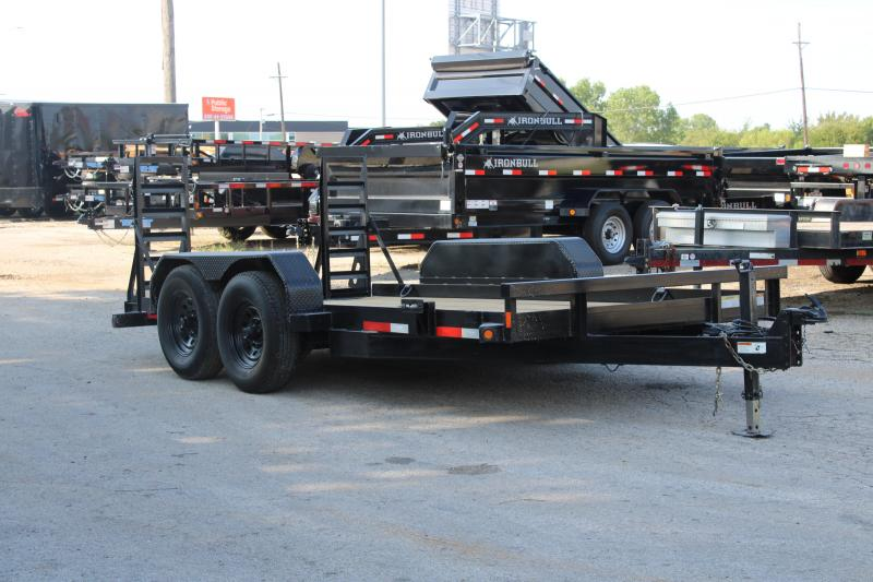 2015 Top Hat Trailers SSBC14X81-14E-F Equipment Trailer