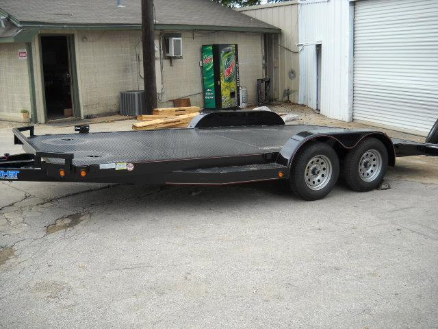 2018 Top Hat Trailers All Steel 7X18 Car / Racing Trailer