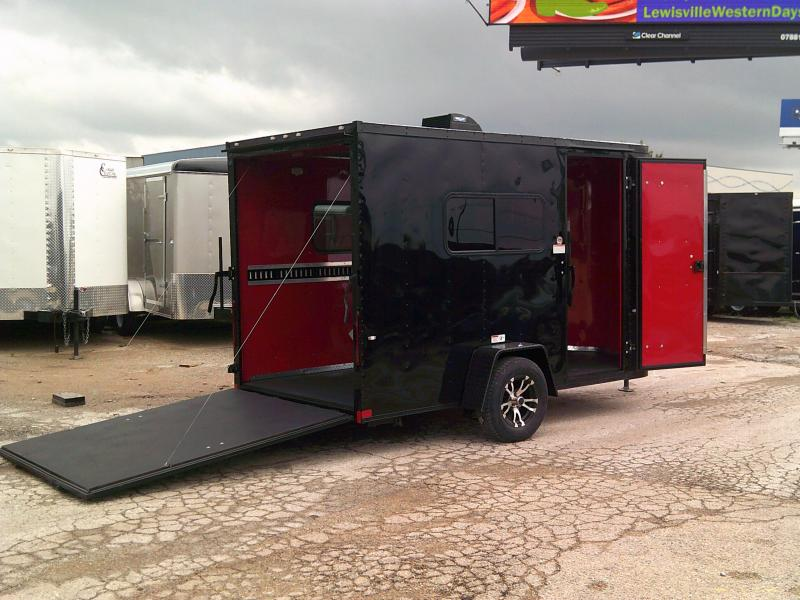 2019 Cargo Craft 6X12 Enclosed Cargo Trailer