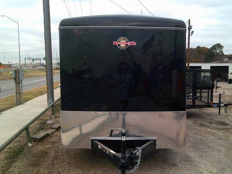2019 Carry-On 7X14 W/ REAR RAMP Enclosed Cargo Trailer