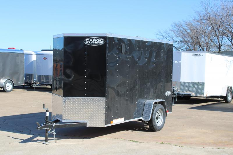 2020 Cargo Express 5X10 Enclosed Cargo Trailer W/Rear Ramp