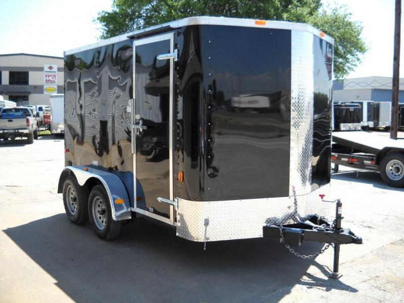2015 Cargo Craft EV7122 Cargo / Enclosed Trailer