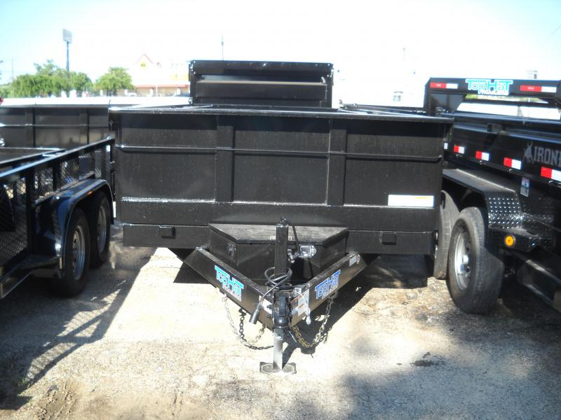 2018 Top Hat Trailers 7X14 Dump Trailer
