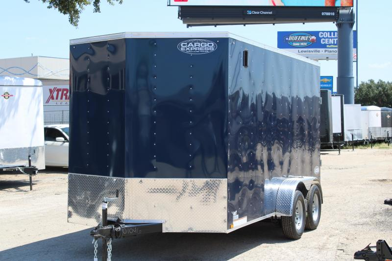 2020 Cargo Express 7X14 Enclosed w/ 7FT Ceiling