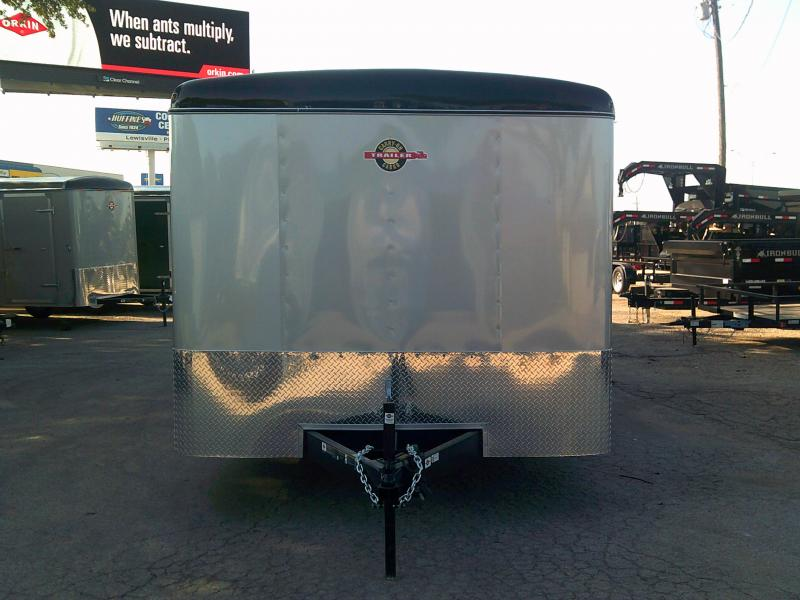 2019 Carry-On 8.5X20 W/. REAR RAMP  Enclosed Cargo Trailer