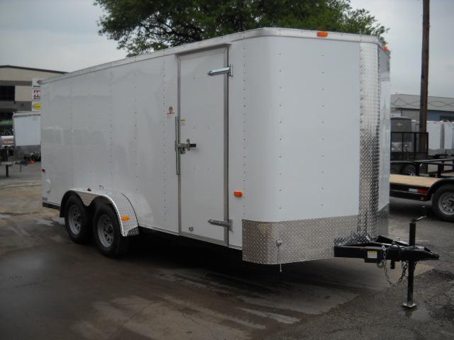 2016 Cargo Craft EV7182 Enclosed Cargo Trailer