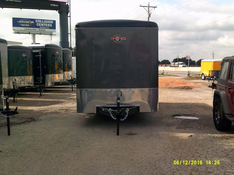 2019 Carry-On 7X18CGR Enclosed Cargo Trailer