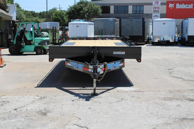 2019 Top Hat 102X20 Equipment Trailer W/14000 GVWR