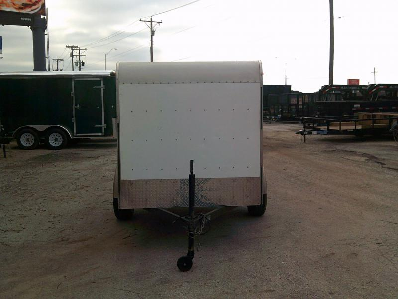USED Lonestar 5X8 Enclosed Cargo Trailer