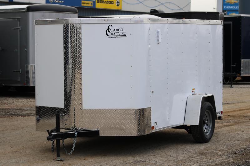 2020 Cargo Craft 6x12 Enclosed Cargo Trailer W/ Rear Ramp