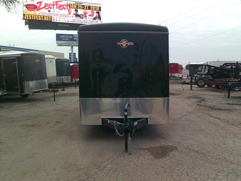 2019 Carry-On 7X16 Enclosed Cargo Trailer W/ RAER RAMP