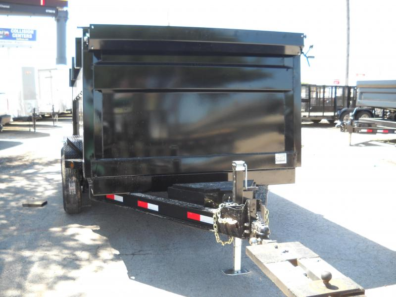 2018 Iron Bull 7X12 Dump Trailer 4FT SIDES