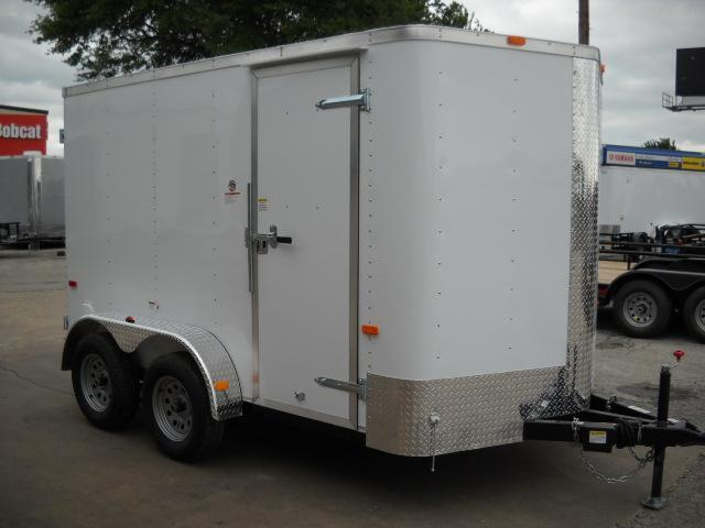 2016 Cargo Craft EV7122 Enclosed Cargo Trailer