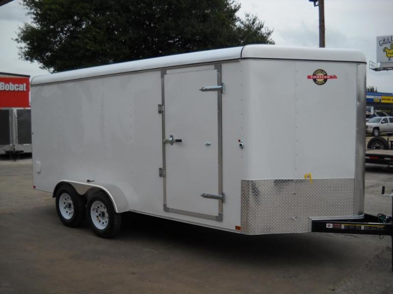2015 Carry-On 7X16CGRV Cargo / Enclosed Trailer