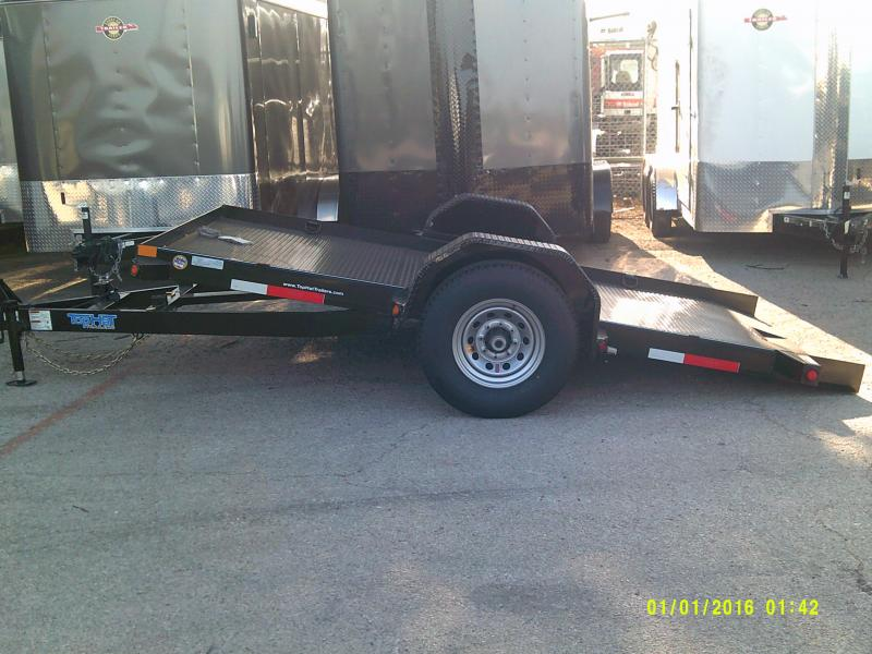 2018 Top Hat Trailers 6.5X12 TILT Equipment Trailer