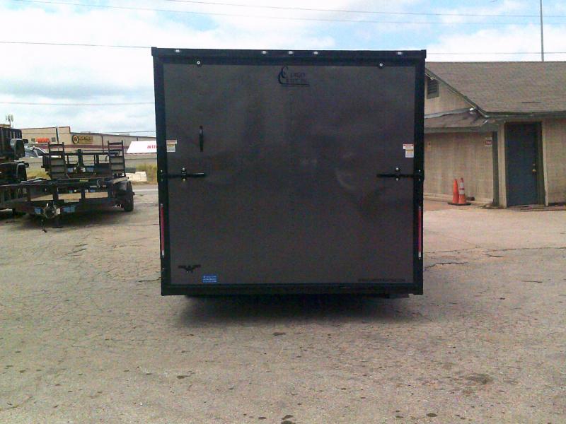 2019 Cargo Craft 8.5x16 w/ Rear Ramp Enclosed Cargo Trailer